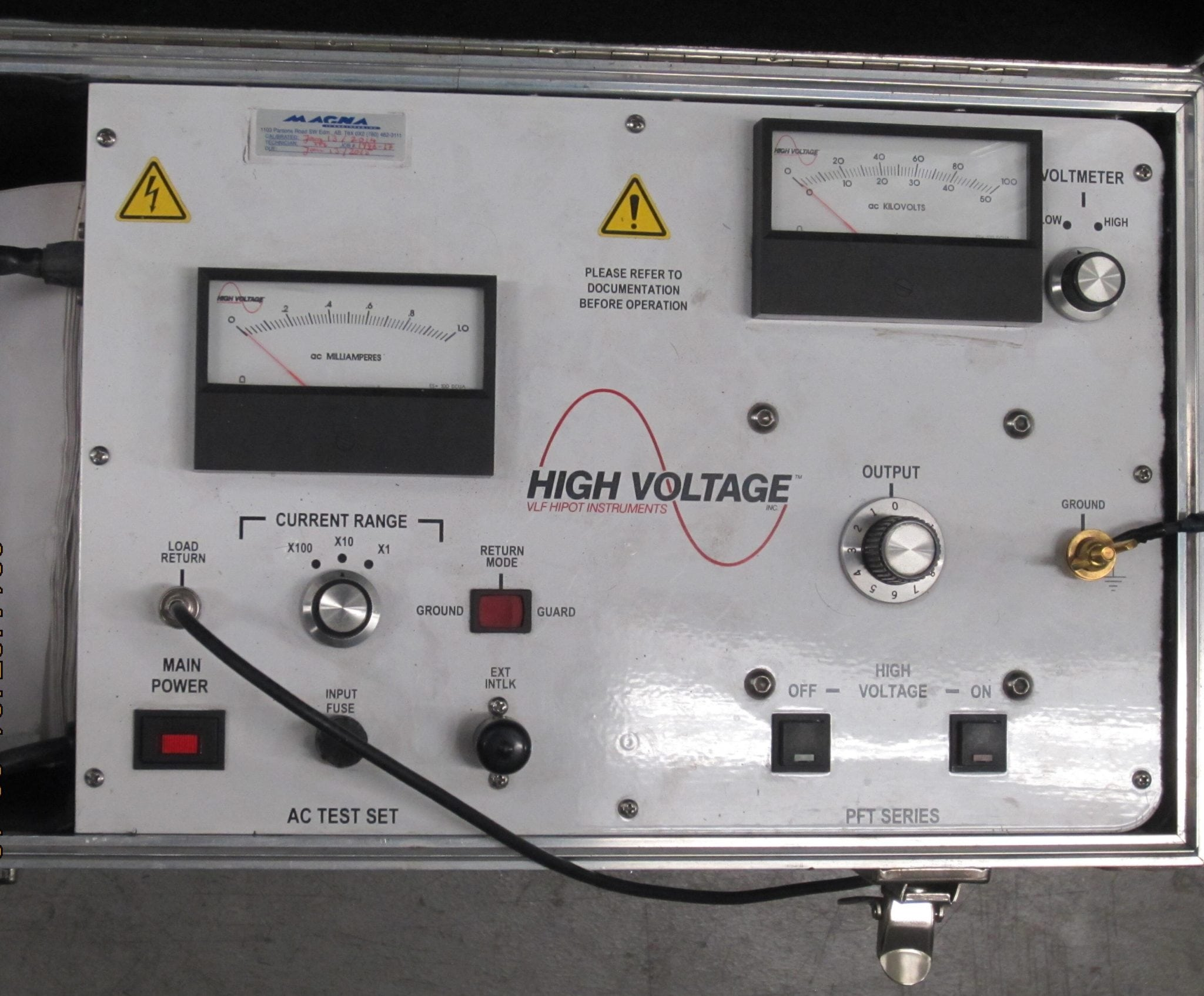 High_voltage_test_set